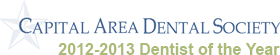 Capital Area Dental Society 2012-2013 Dentist of the Year